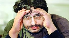 دکلمه زیبای محمد صالحعلاء هنگام واکسیناسیون