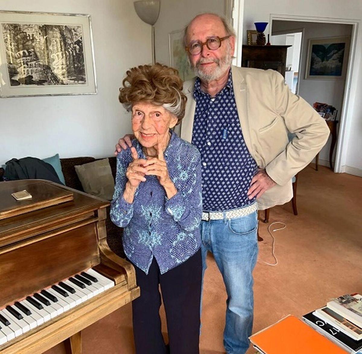 زن پیانیست ۱۰۷ ساله آلبوم جدیدش را منتشر کرد