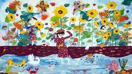 درخشش کودکان ایرانی در مسابقه نقاشی «جی کیو ای» ژاپن