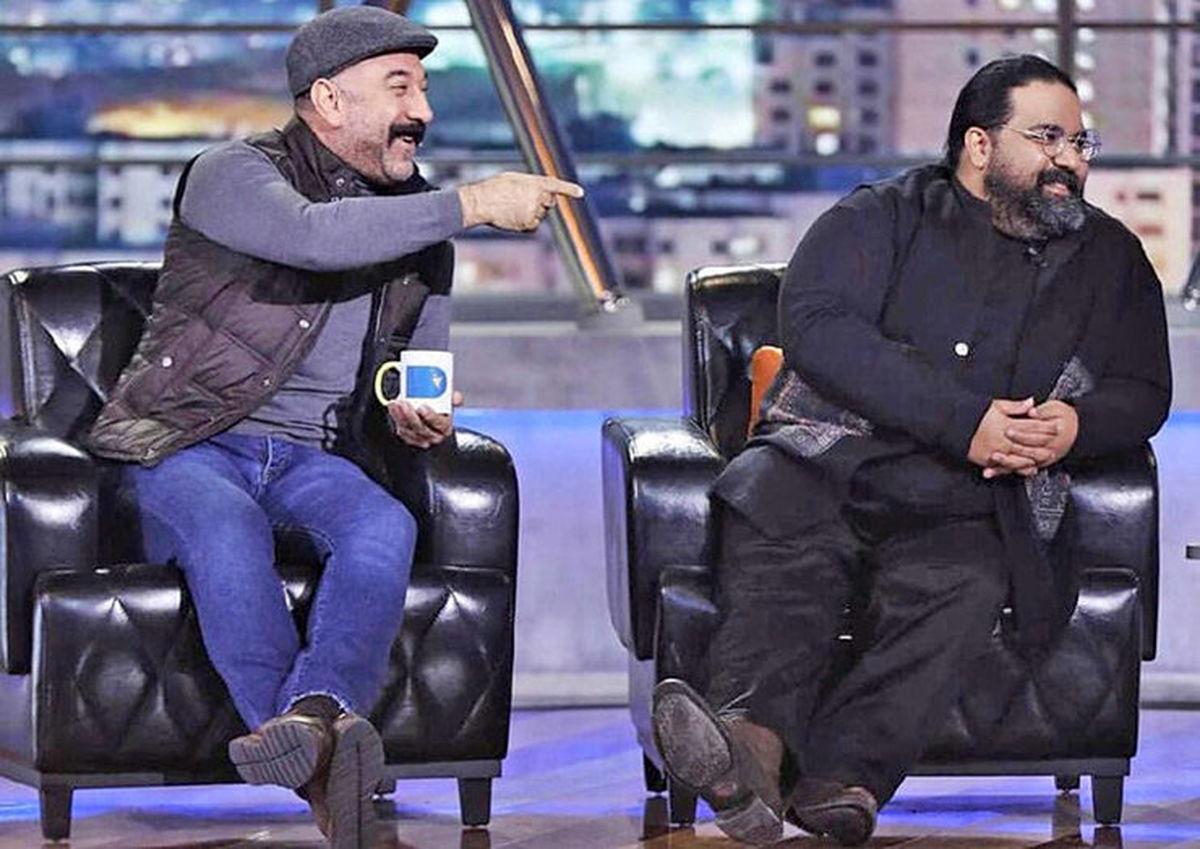 علی انصاریان در همرفیق شهاب حسینی به همراه رضا صادقی