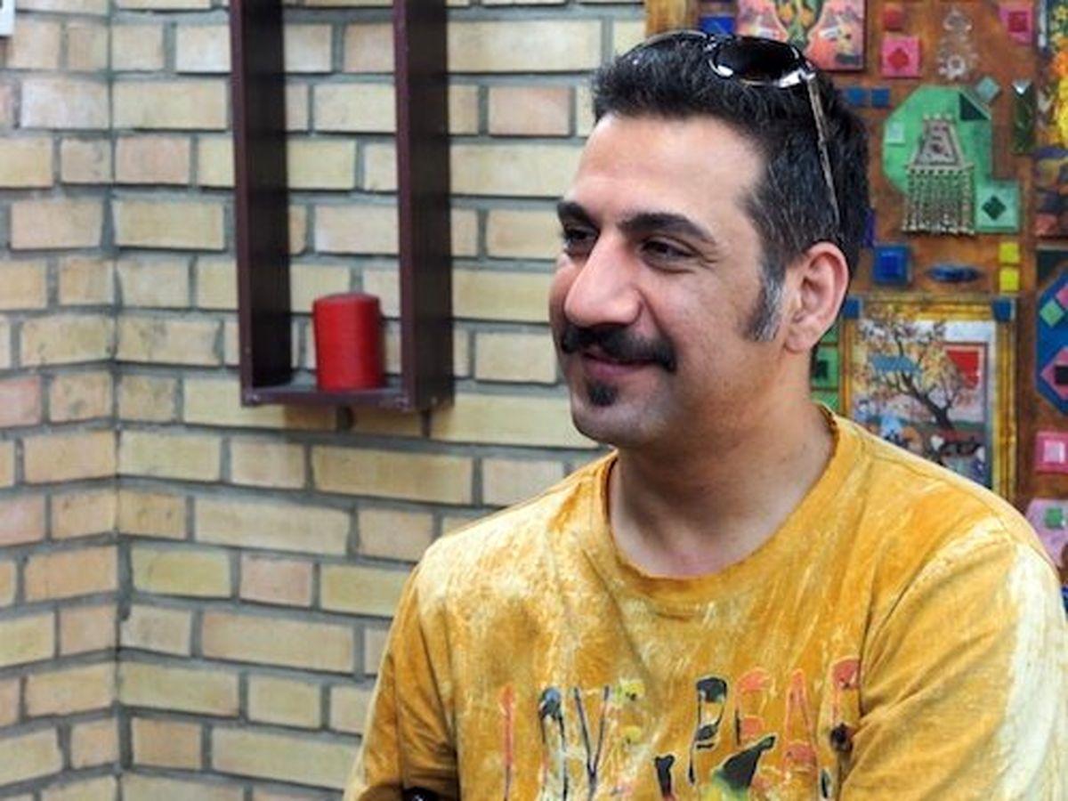 شوخی محمد نادری با افسر راهنمایی و رانندگی که جواب داد!