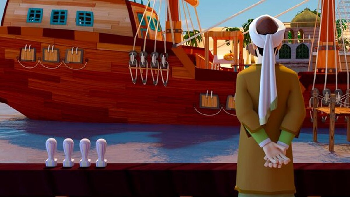 کارتون سفرهای «سعدی» در قرنطینه ساخته شد