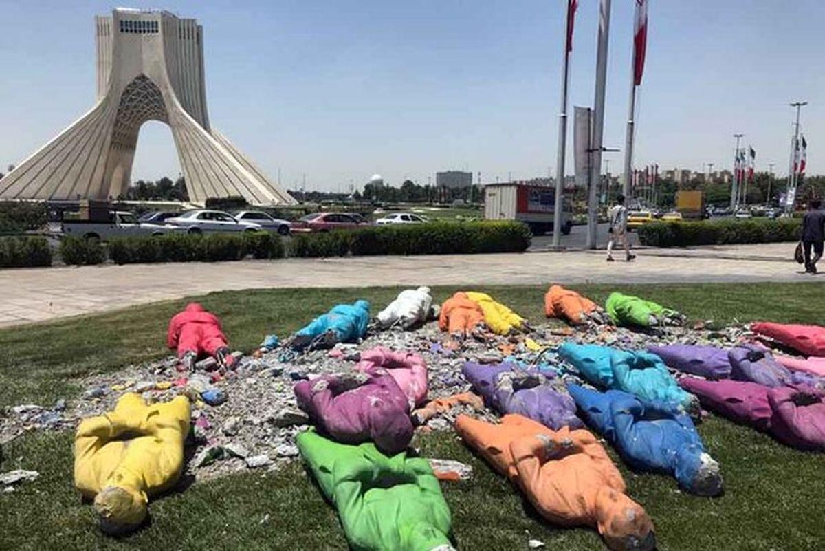 معمای حذف و جابهجایی مجسمههای تهران/ فستیوالیها حذف میشوند؟!