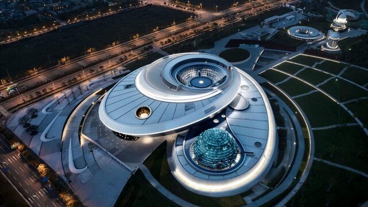 معماری فضایی در بزرگترین موزه ستارهشناسی جهان + تصاویر