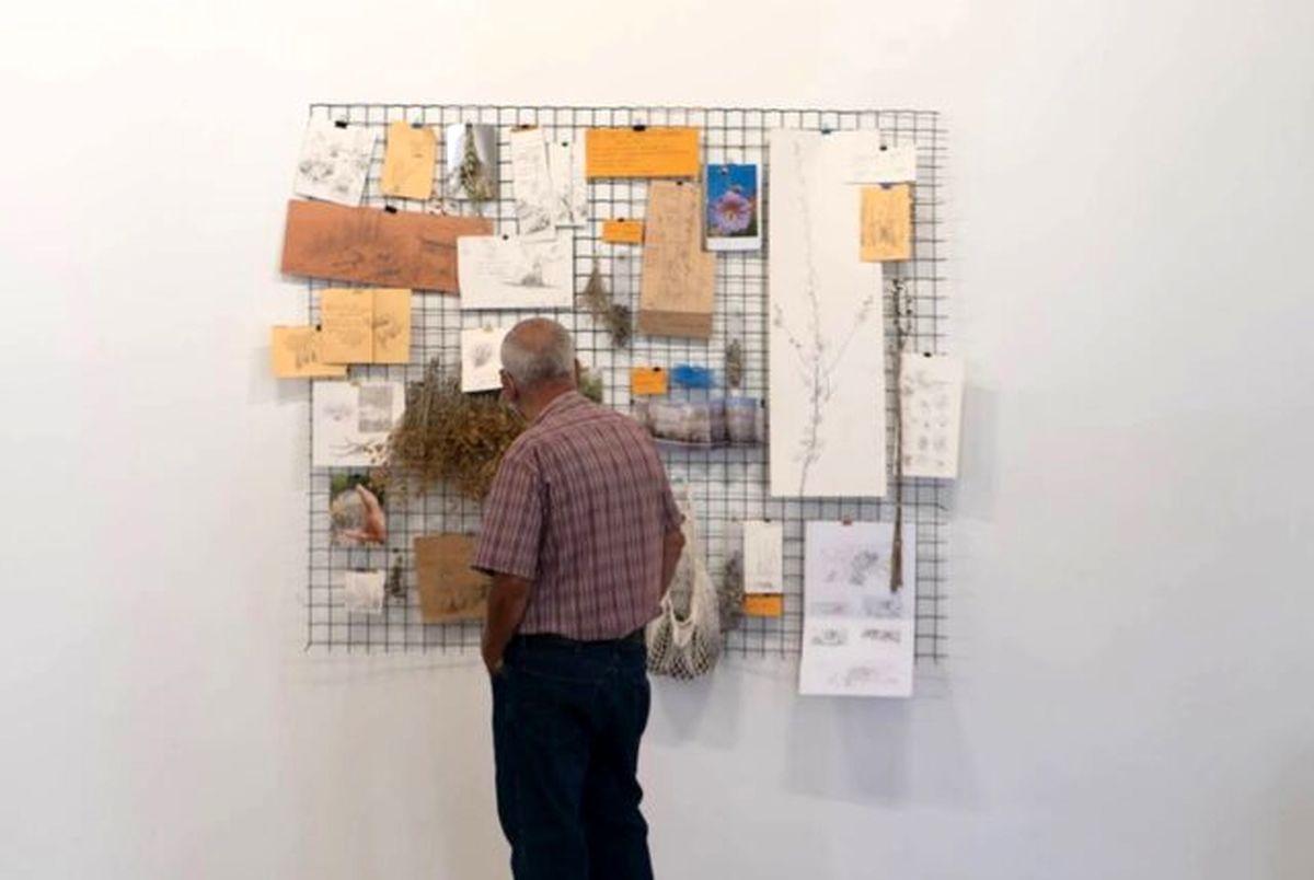 اولین گالری تخریب شده از انفجار بیروت سرپا شد