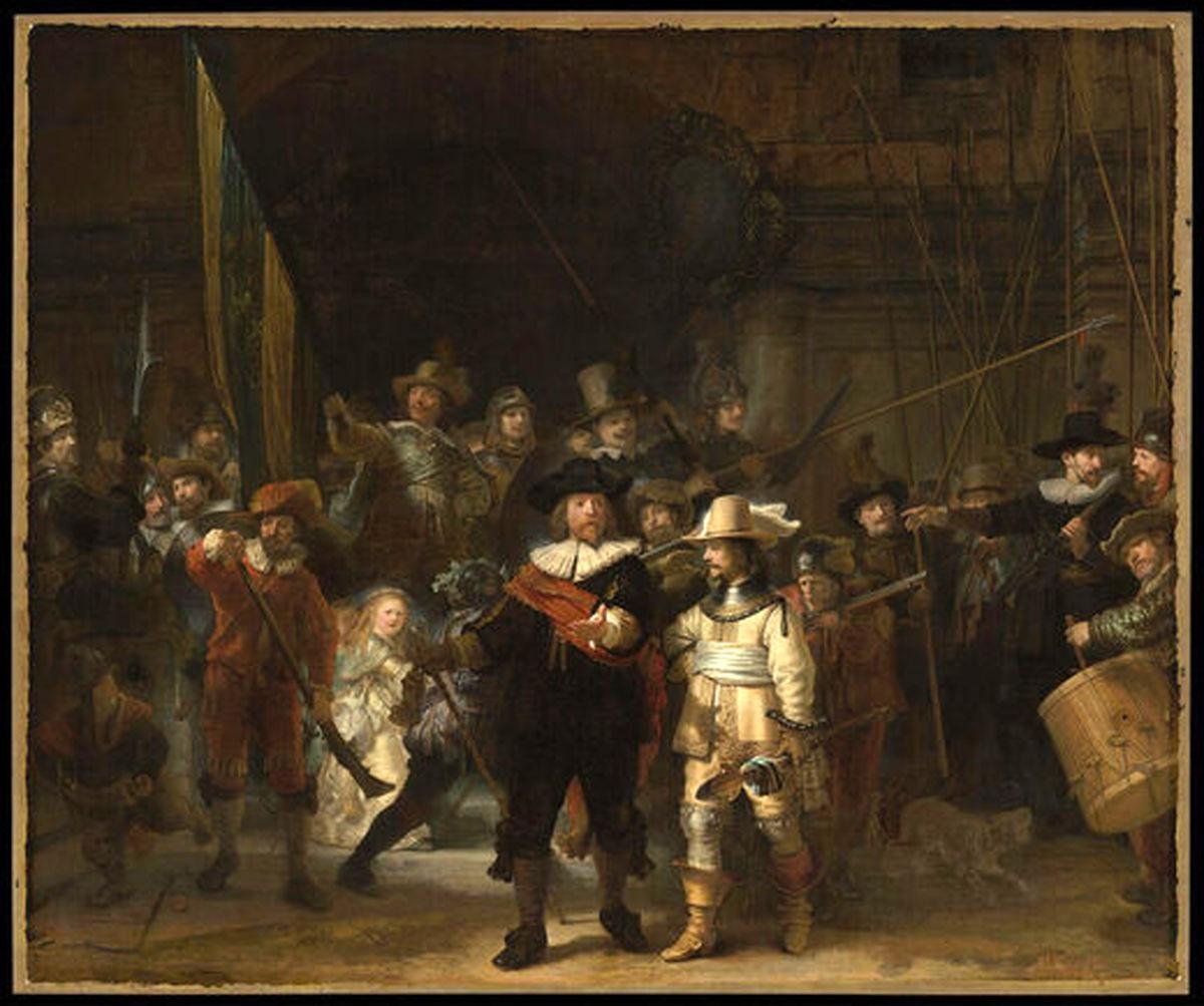 نگهبانان شب، مشهورترین اثر رامبراند