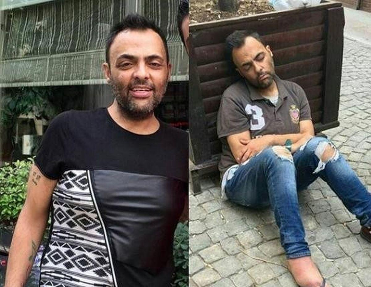 شهرام کاشانی درگذشت/ بیوگرافی و ماجرا تنفر شهرام کاشانی از گوگوش/ تصاویر قبل و بعد از اعتیاد وی به الکل