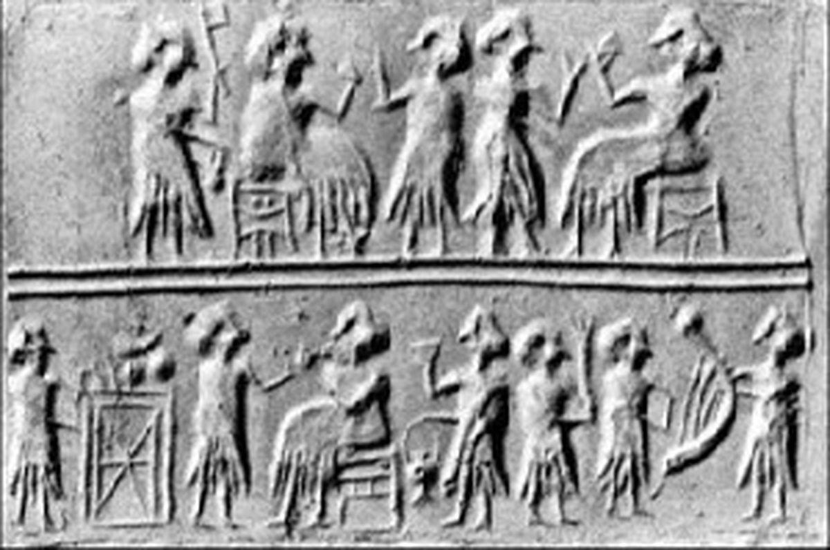 10 نمونه از قدیمی ترین سازهای موسیقی زمان باستان + عکس