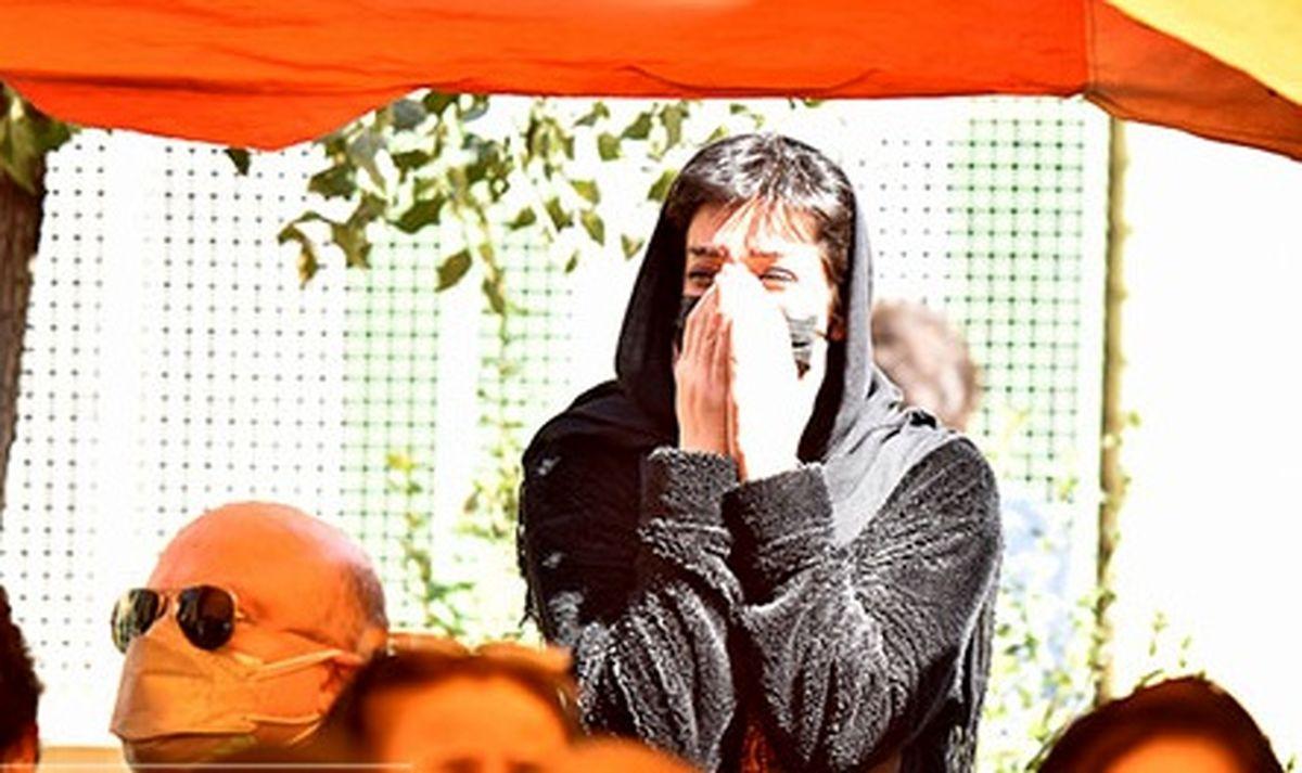 عکس های مراسم خاکسپاری عزت الله مهرآوران با حضور هنرمندان