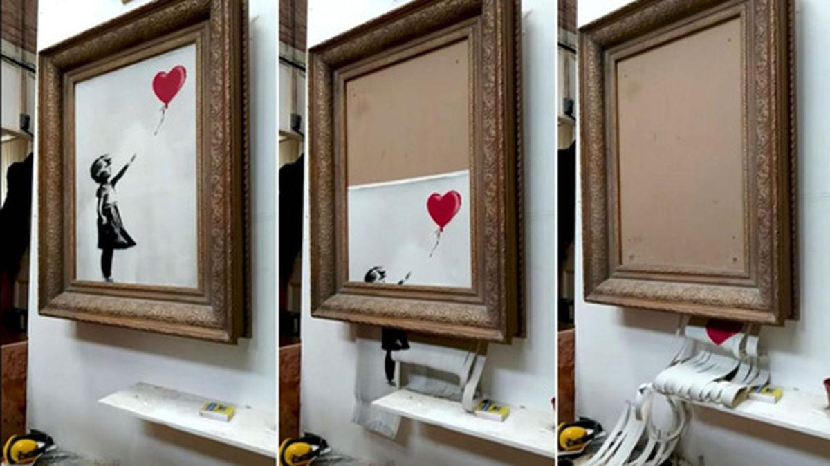 حراج دوباره نقاشی «دختری با بادکنک» بنکسی
