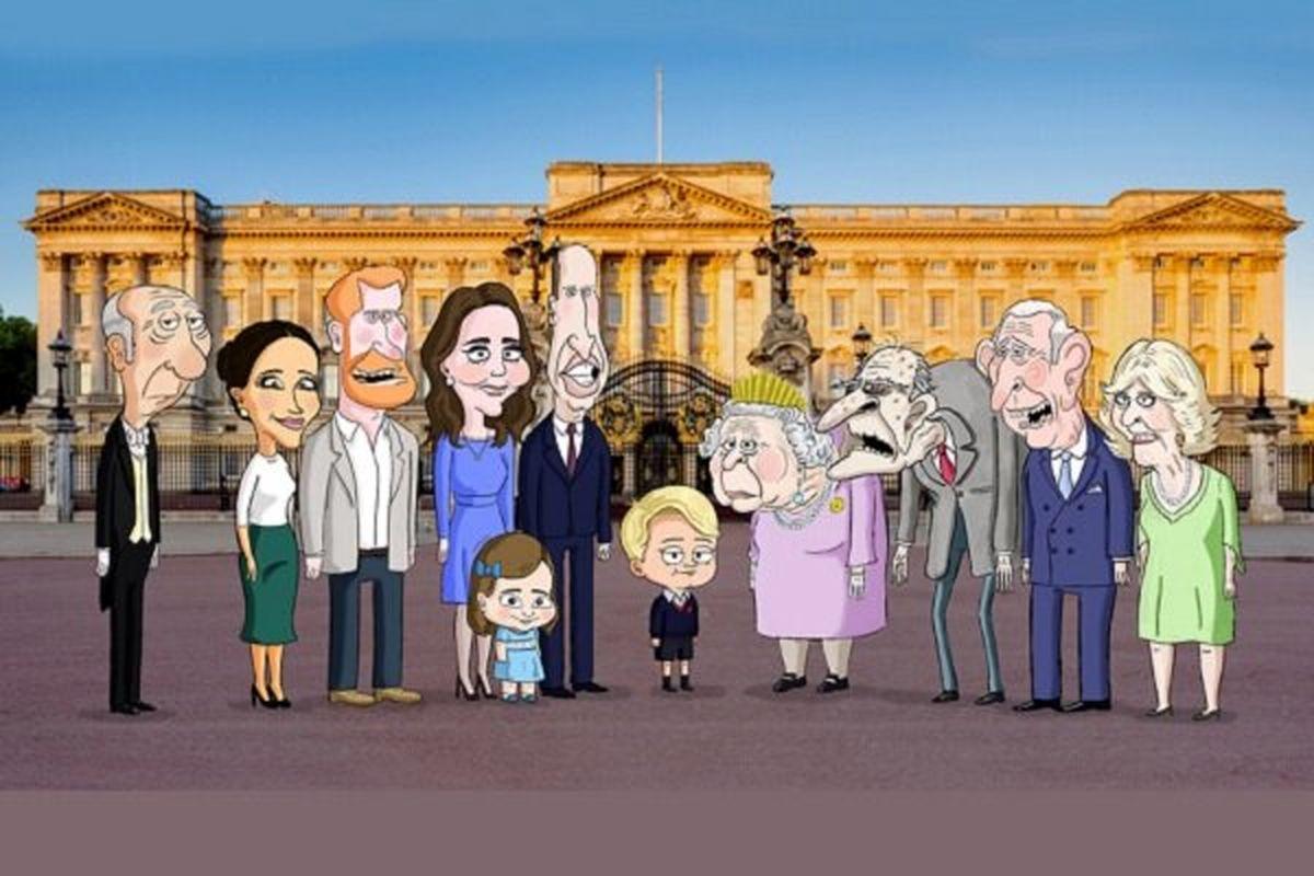 طنز؛ آنچه در مراسم هفتم همسر ملکه بریتانیا گذشت