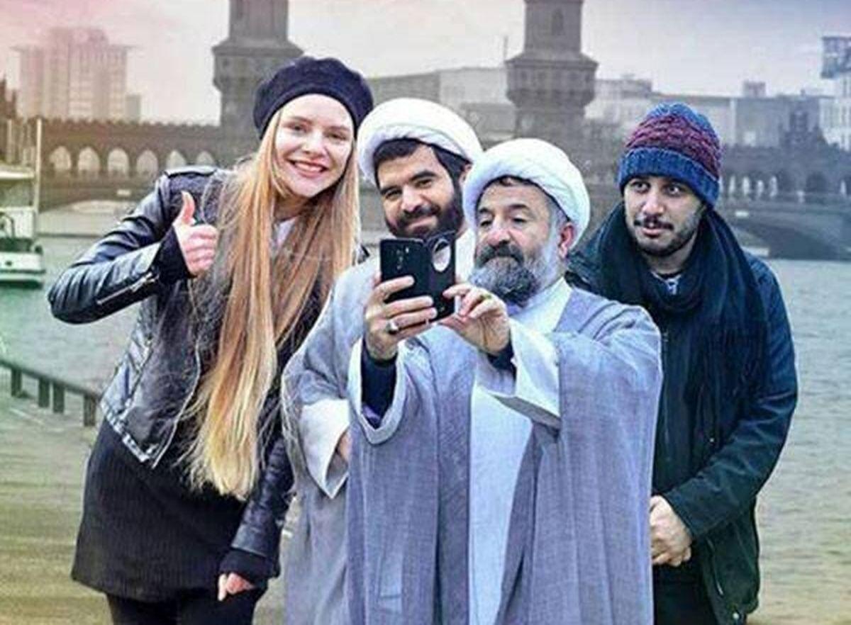 سلفی دو روحانی با جواد عزتی به آرژانتین رسید